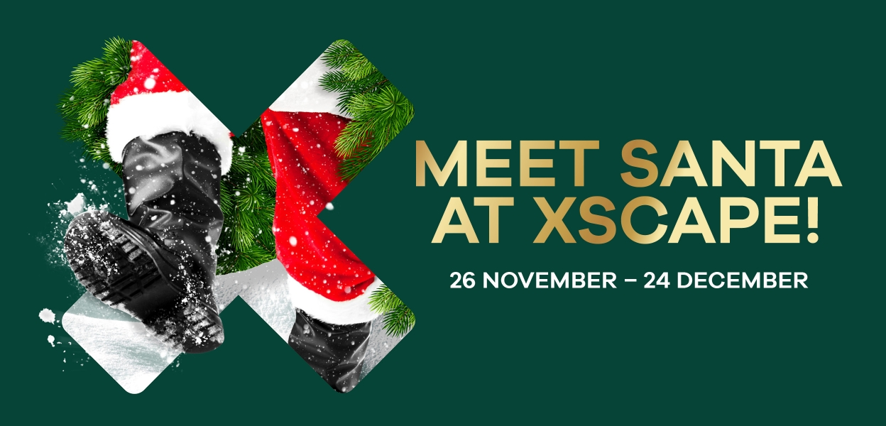 Meet Santa at Xscape Yorkshire, Castleford West Yorkshire