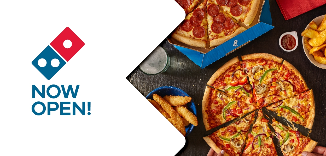 Domino's Now Open at Xscape Yorkshire Castleford