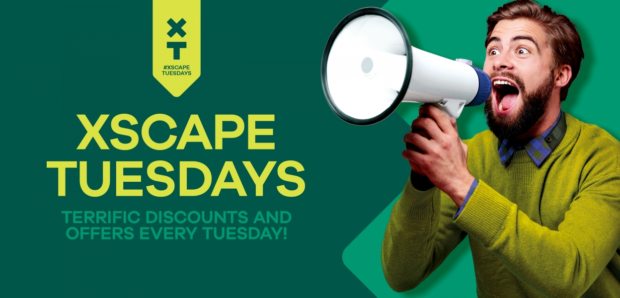 Xscape Tuesdays - discounts and offers at Xscape