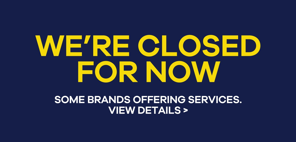 We're Closed for Now at Xscape Yorkshire Castleford