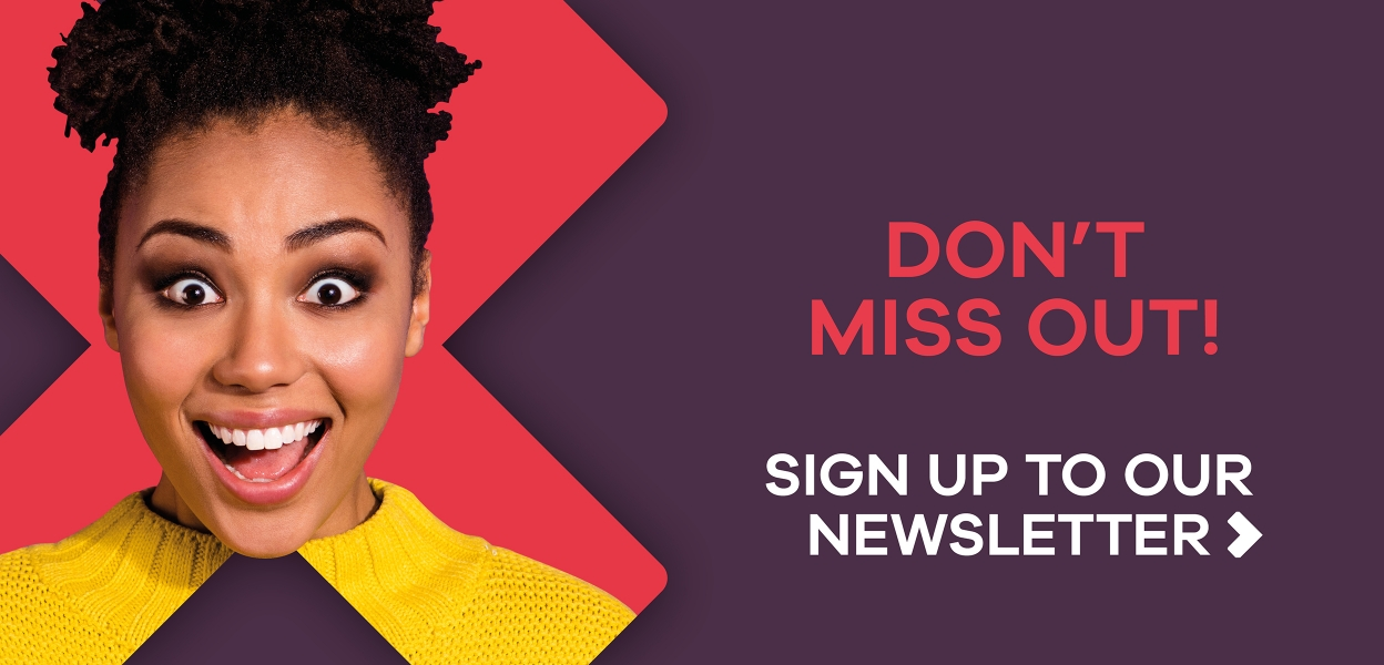 Sign up to the Xscape orkshire e-newsletter girl with yellow top