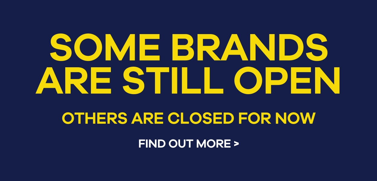 Some Brands Are Still Open At Xscape Yorkshire Castleford