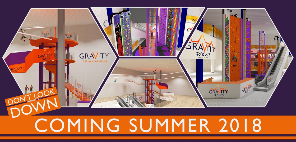 New Gravity attractions coming this summer
