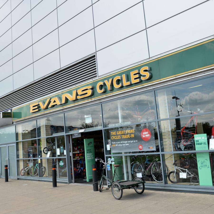 Evans Cycles Xscape Ext