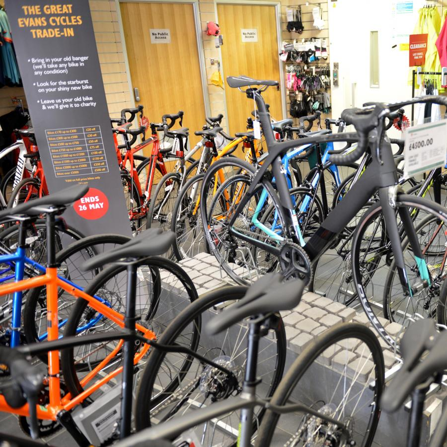 Evans Cycles Xscape Int