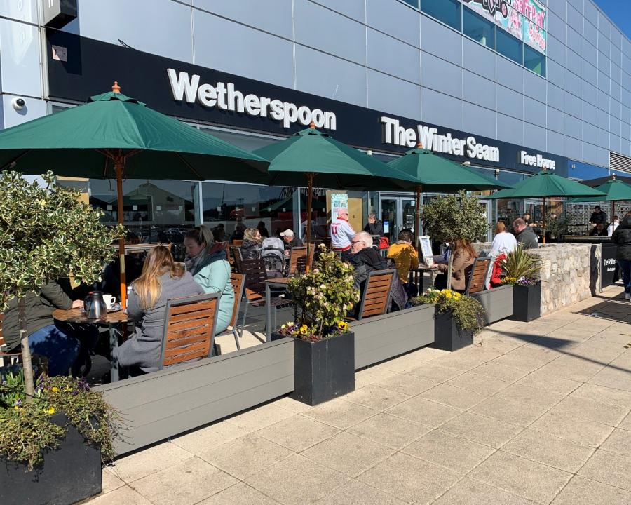 Wetherspoon The Winter Seam at Xscape Yorkshire Castleford