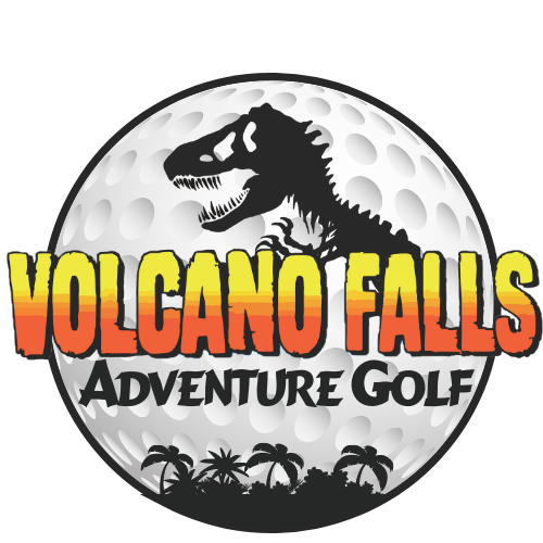 Volcano Falls Adventure Golf logo