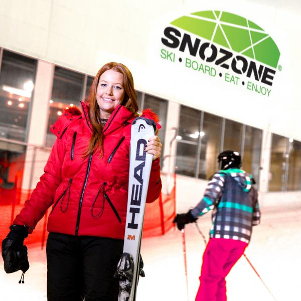 Skiing and snowboarding at Snozone Xscape Yorkshire