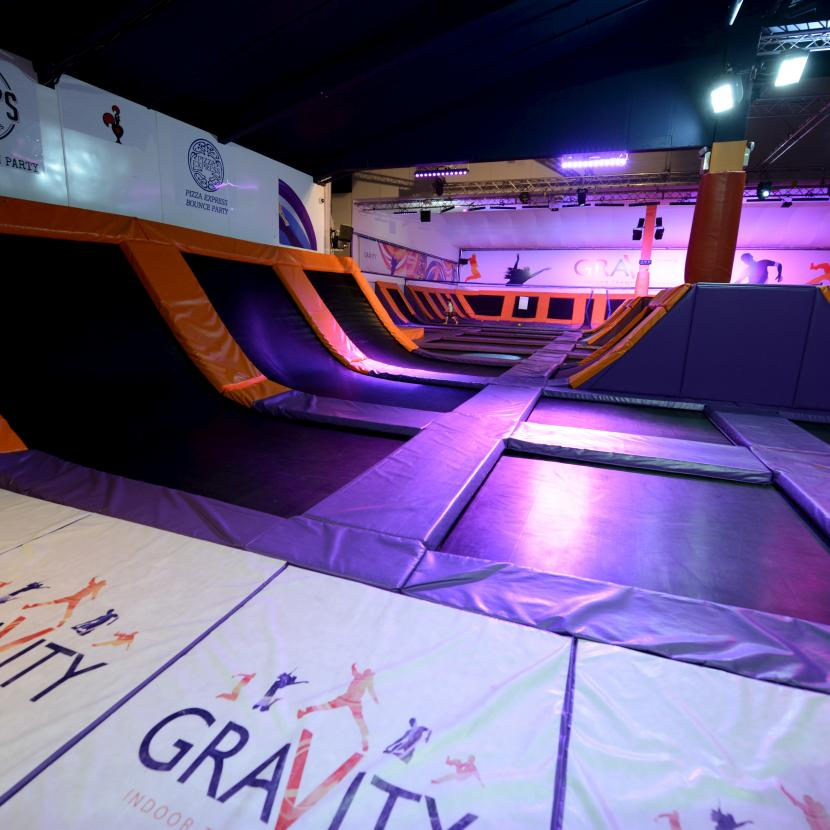 Gravity Female Model Xscape Yorkshire