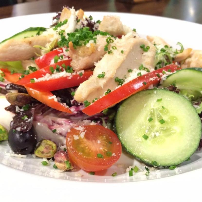 Chicken Salad Food Shot