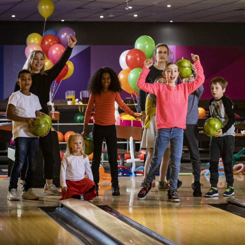 Kids bowling party at Xscape Yorkshire Castleford