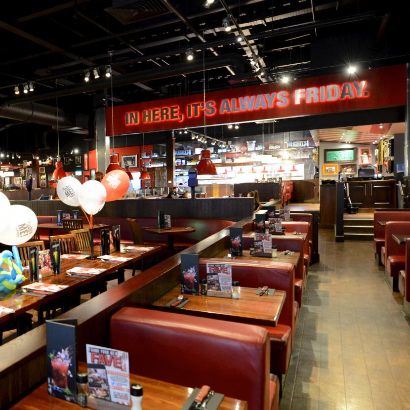 TGI Fridays Xscape Int