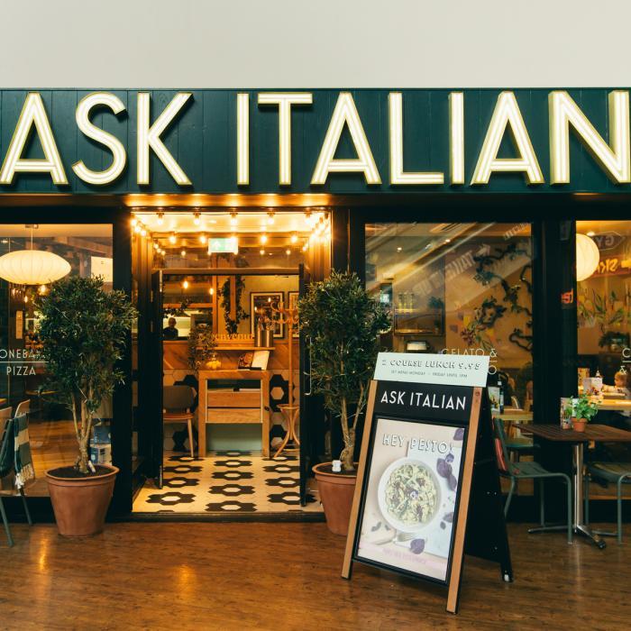 Ask Italian Restaurants In West Yorkshire Xscape Yorkshire