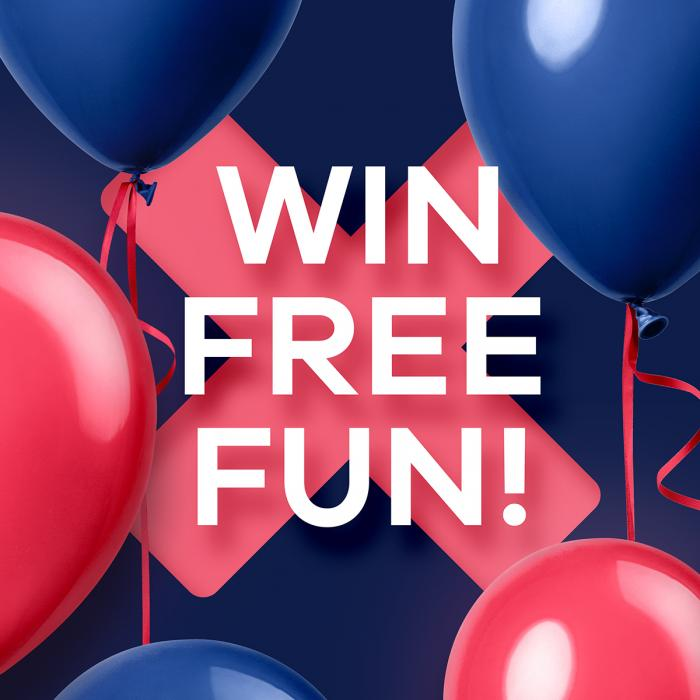 Win free fun Xscape Yorkshire 15th Birthday prize draw