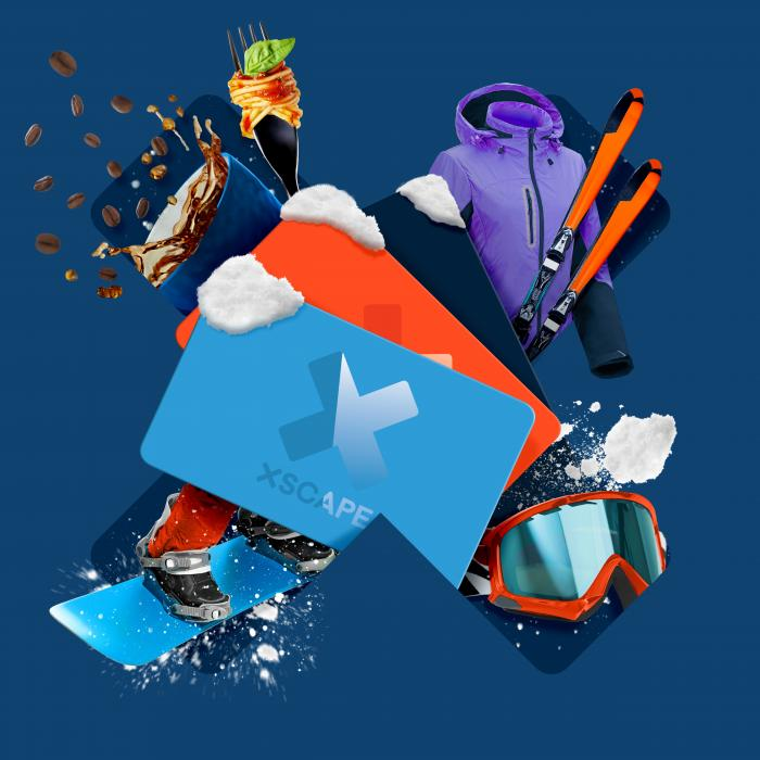 Win a £200 Xscape Gift Card Snow Season Snowsports Competition