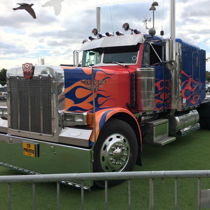 Optimus Prime at Xscape Yorkshire