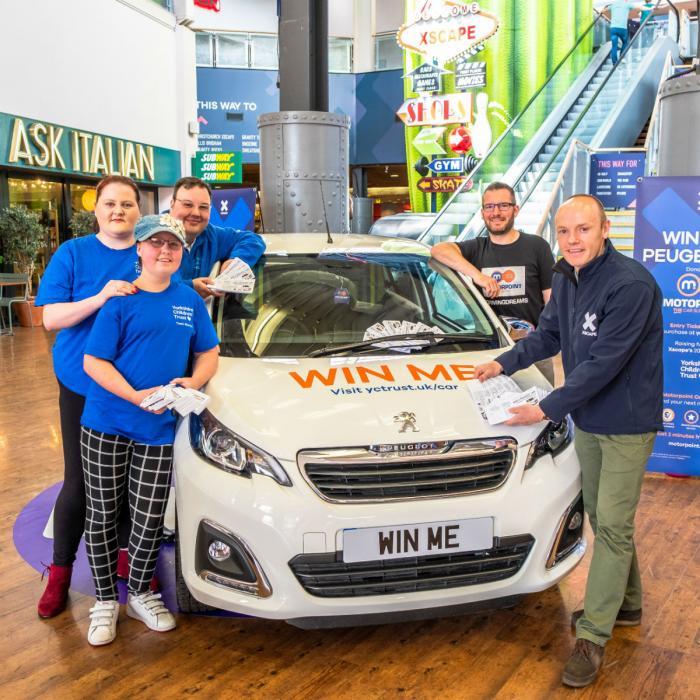 Win a Peugeot 108 Charity Raffle