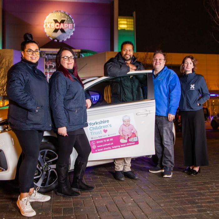 Charity Car Raffle Winner at Xscape Yorkshire