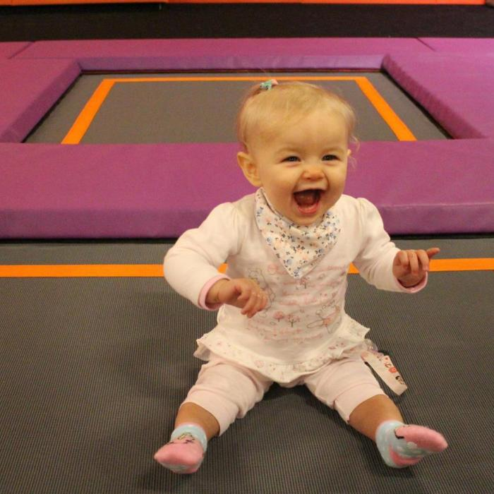 Toddler at Gravity Parent & Toddler Sessions