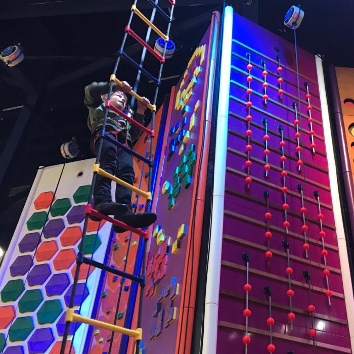 Climb and Jump Combo Deal at Gravity Trampoline Parks Xscape