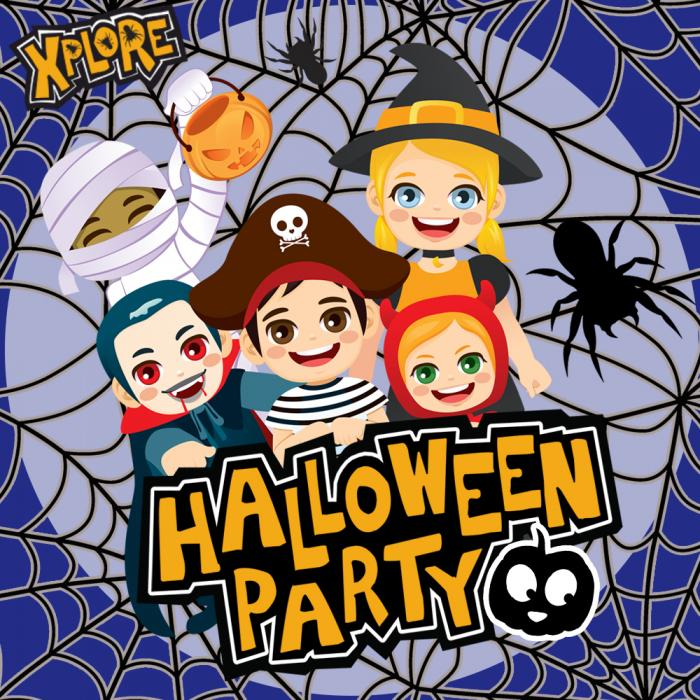 Halloween Party at Xplore Soft Play Xscape Yorkshire Castleford