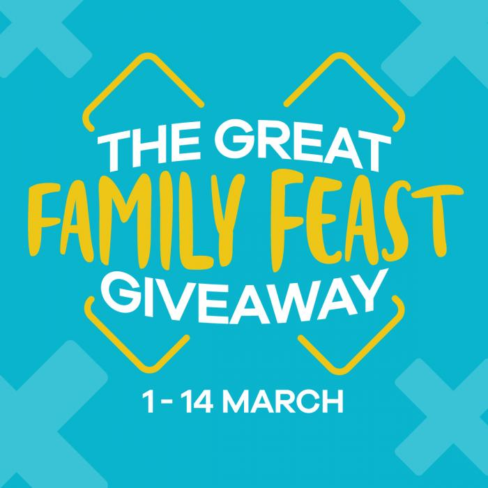 The Great Family Feast Giveaway at Xscape Yorkshire