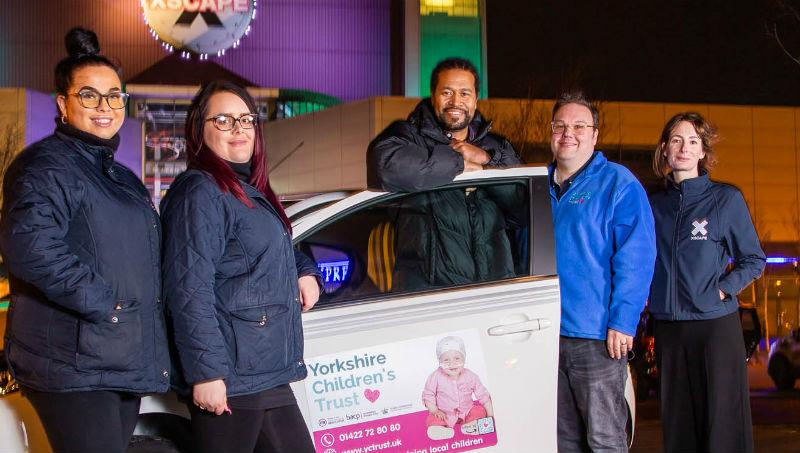 Charity Car Raffle Winner at Xscape Yorkshire