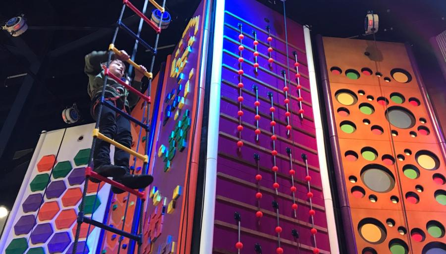 Gravity Rocks Climbing Walls Xscape Yorkshire Castleford
