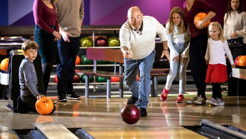 Family Bowing at Tenpin Xscape Yorkshire