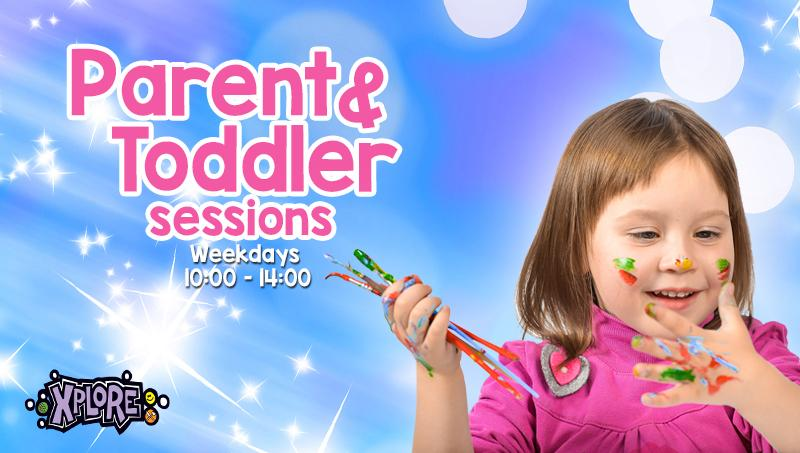 Themed parent and toddler events at Xplore