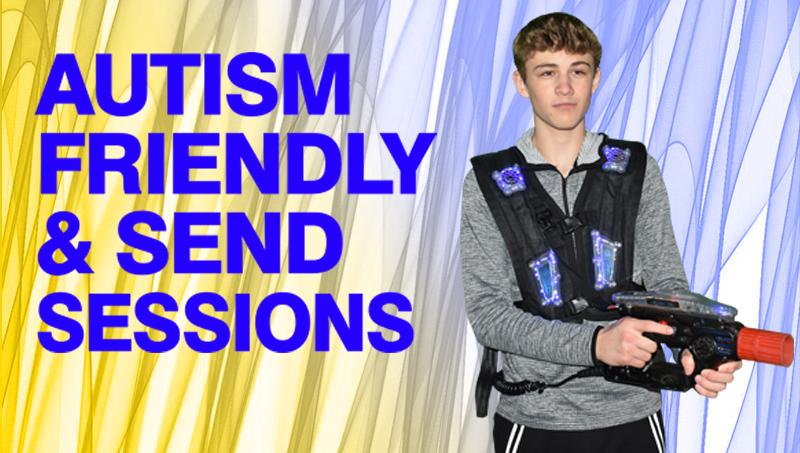Laser tag autism and send sessions xscape yorkshire