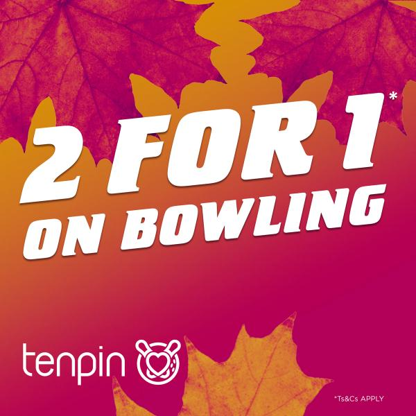 Tenpin half term offer Xscape Yorkshire Castleford
