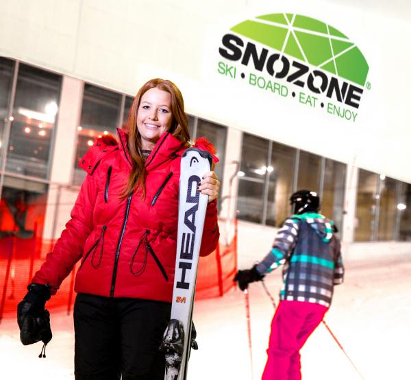 Snozone indoor snow centre at Xscape Yorkshire Castleford