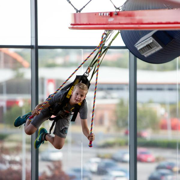 Gravity Skycoaster at Xscape Yorkshire this Easter