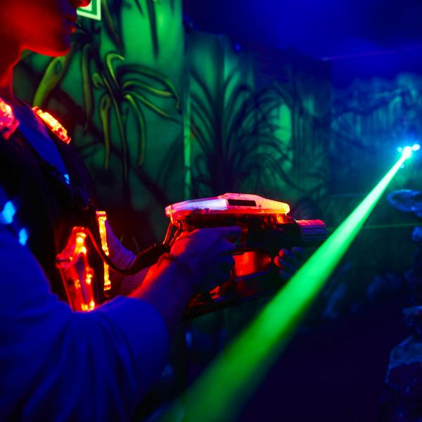 Laser Tag at Xscape this Easter