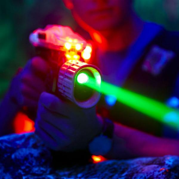 Laser tag at Xscape Yorkshire Castleford