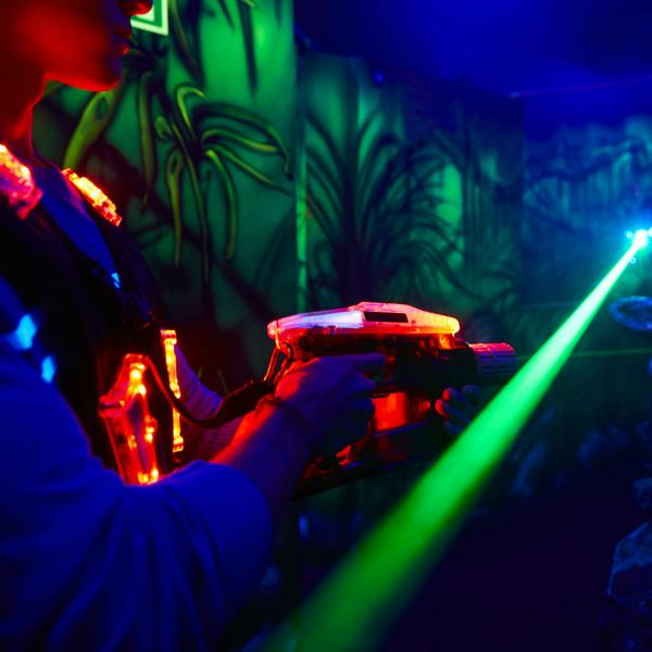 Laser tag at laserZone Xscape Yorkshire Castleford