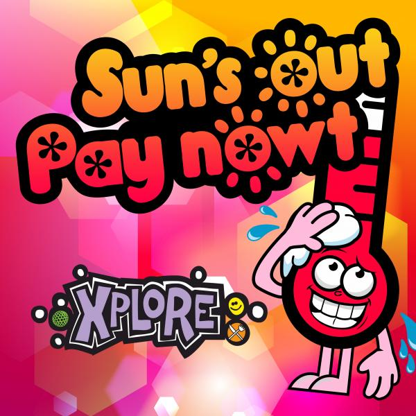 Free child entry to Xplore Soft Play