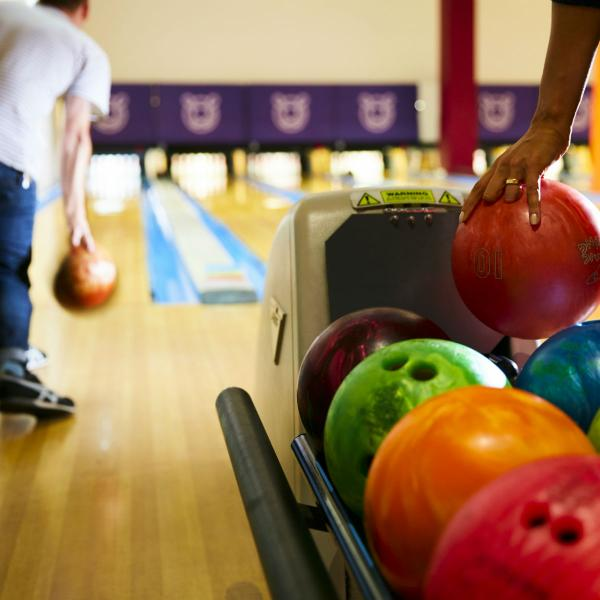 Tenpin bowling at Xscape Yorkshire