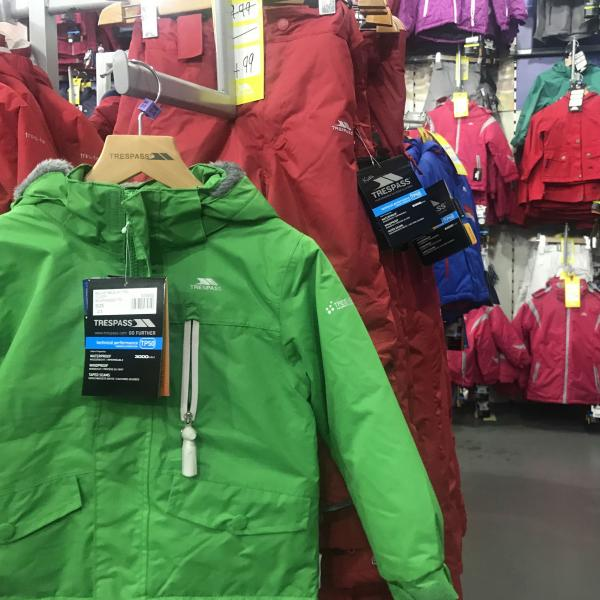 Trespass ski family kids ladies and mens Xscape Yorkshire Castleford