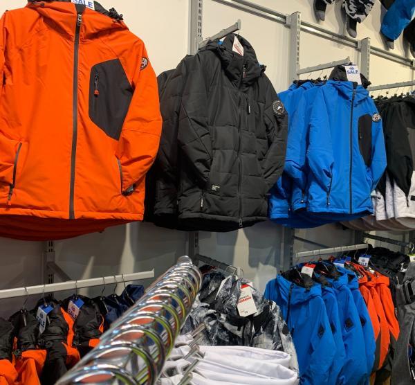 Surfanic ski and snowboard jackets at Xscape Yorkshire Castleford